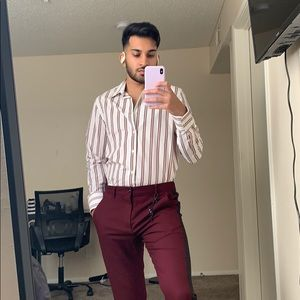 Zara Men's Striped Shirt- new w/o tags